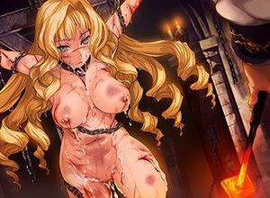 【吐けば楽になるゾ】敵に捕まって拷問を受けてる二次リョナ画像