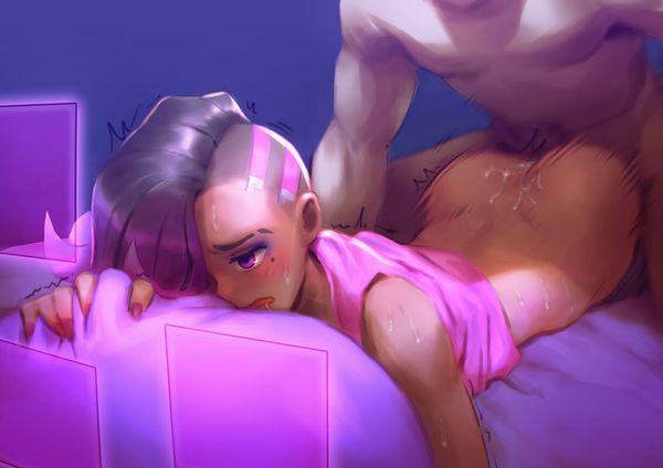 【オーバーウォッチ】ソンブラ(Sombra)のエロ画像【9】