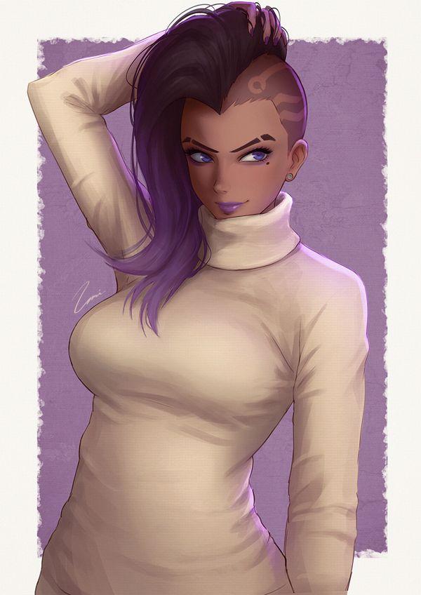 【オーバーウォッチ】ソンブラ(Sombra)のエロ画像【42】