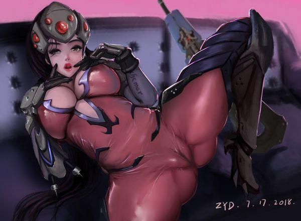 【オーバーウォッチ】ウィドウメイカー(Widowmaker)のエロ画像【22】