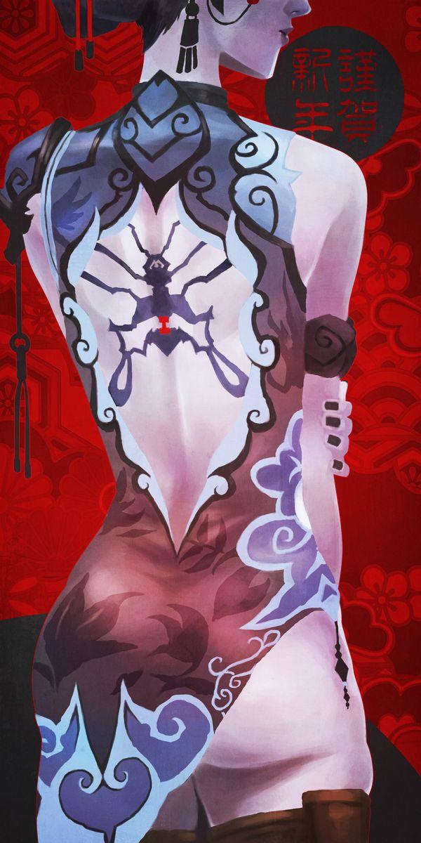 【オーバーウォッチ】ウィドウメイカー(Widowmaker)のエロ画像【32】