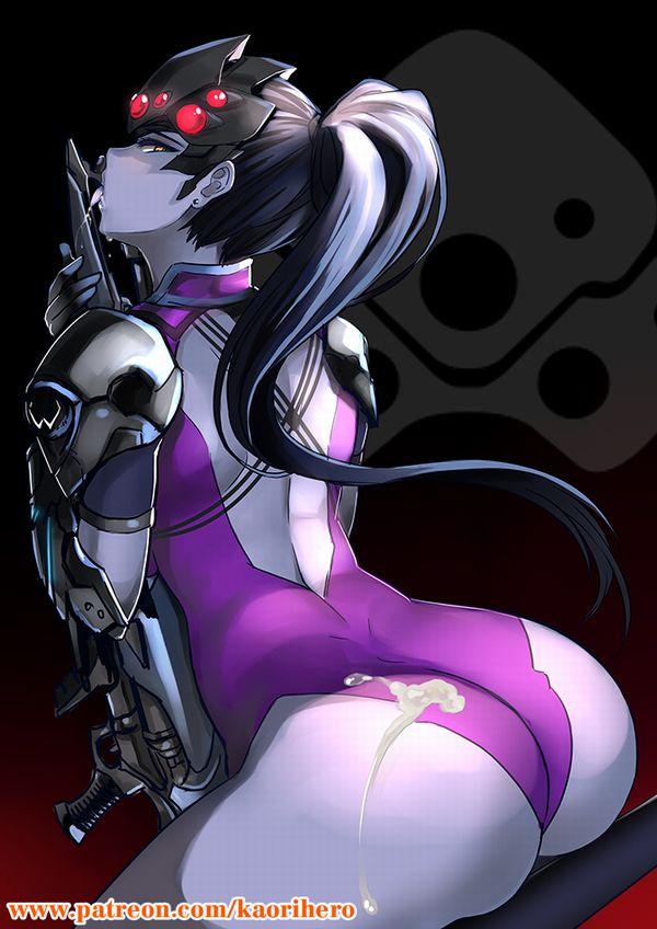 【オーバーウォッチ】ウィドウメイカー(Widowmaker)のエロ画像【35】