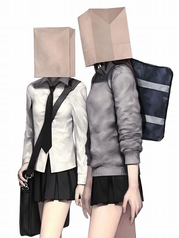 【ブラジル】頭に袋を被せられている女子達の二次エロ画像【メキシコ】【7】