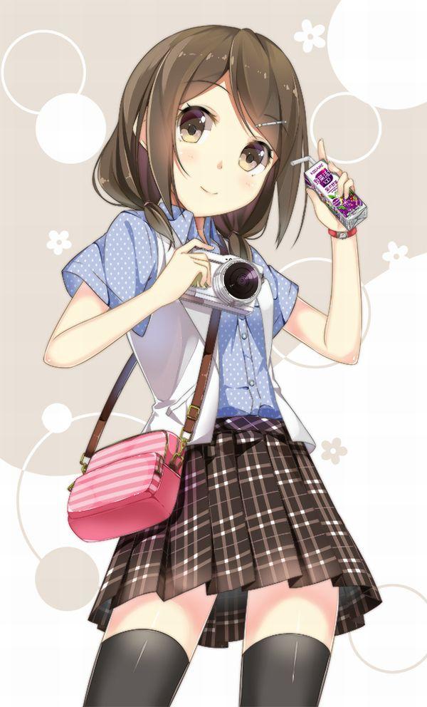 【量が少ない(切実)】紙パックのちっちゃいジュース飲んでる女子たちの二次画像【7】