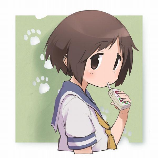 【量が少ない(切実)】紙パックのちっちゃいジュース飲んでる女子たちの二次画像【17】