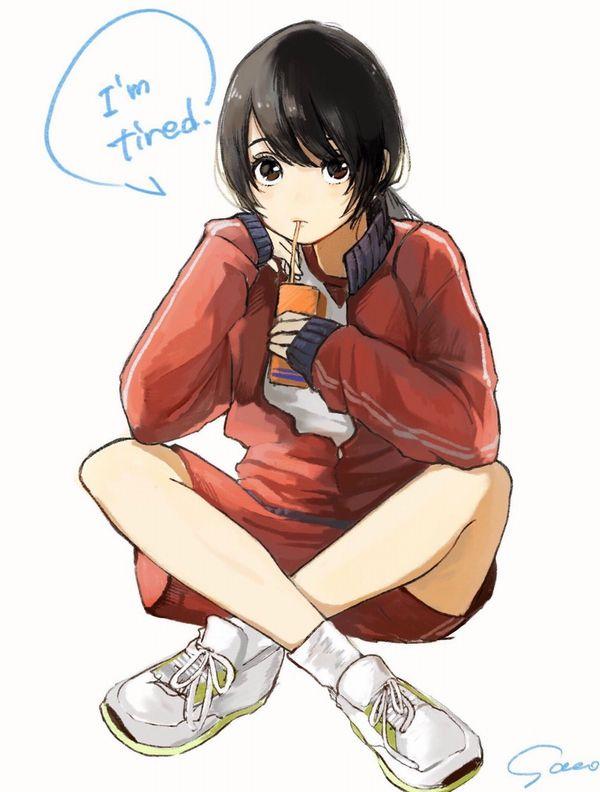 【量が少ない(切実)】紙パックのちっちゃいジュース飲んでる女子たちの二次画像【39】