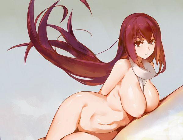 【暑いの?】全裸にマフラー・スカーフ姿な女子達の二次エロ画像【寒いの?】【6】