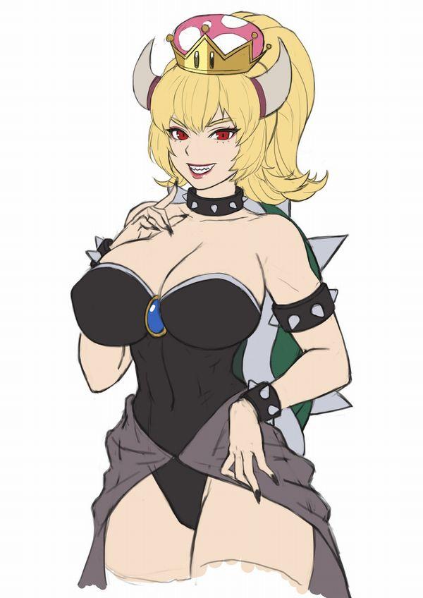【女体化】クッパ姫のエロ画像【42】