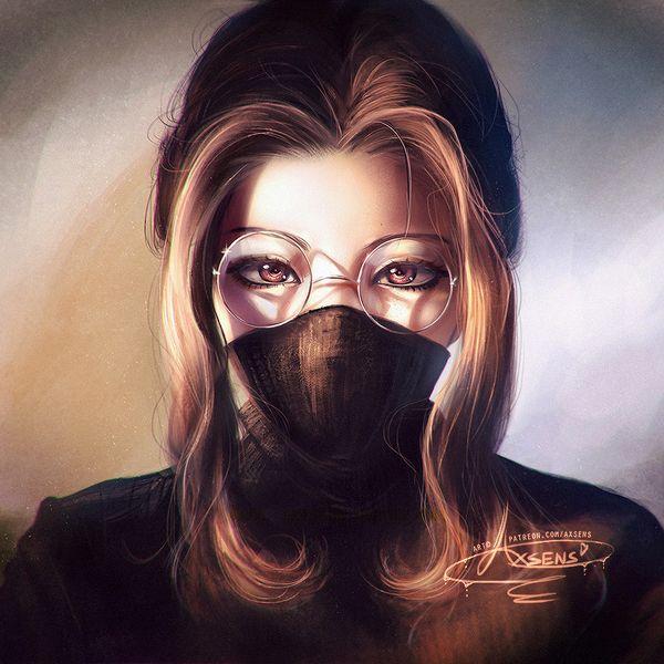 【お前平田だろ!】マスクつけてて顔が判らない女の子の二次エロ画像【19】