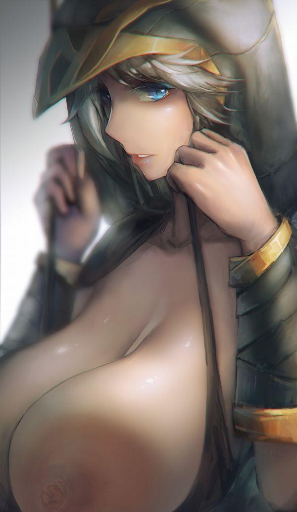 【LOL】Ashe(アッシュ)のエロ画像【リーグ・オブ・レジェンド】【46】