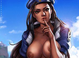 【オーバーウォッチ】アナ(Ana)のエロ画像