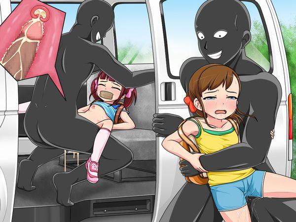 【地域によっては】DQNに拉致られて車内レイプされてる二次エロ画像【リアル】【16】