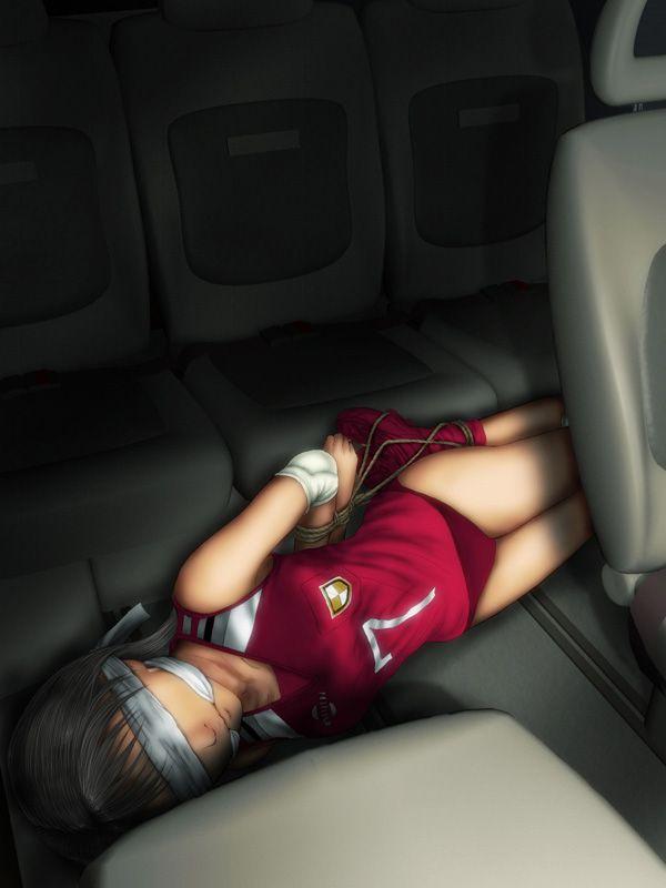 【地域によっては】DQNに拉致られて車内レイプされてる二次エロ画像【リアル】【35】