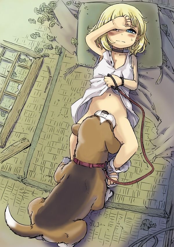 【バター犬】わんこにマンコ舐めさせてる二次エロ画像【33】