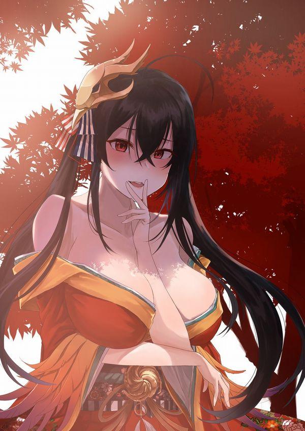 【秋深し隣はナニをする人ぞ】紅葉とおっぱいの二次エロ画像【30】