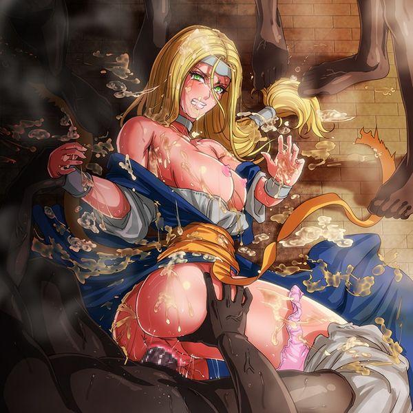 【エルフ】ファンタジー世界のレイプ系二次エロ画像【女戦士】【36】