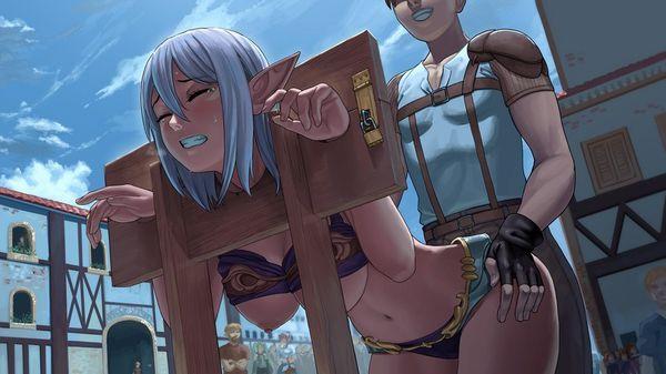 【エルフ】ファンタジー世界のレイプ系二次エロ画像【女戦士】【37】