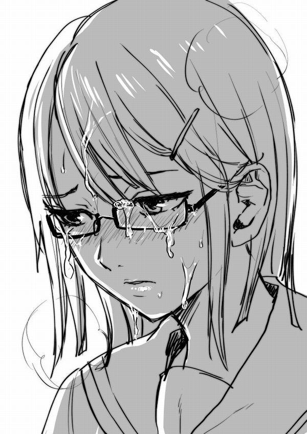 【メガネぶっかけ】「目に入らないから安心!」遠慮なく顔面に精液を飛ばされる女の子達【14】