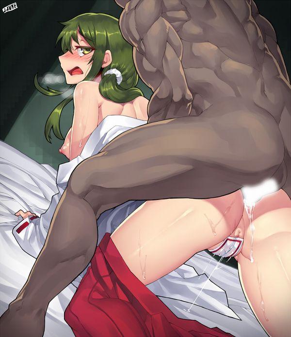 【アナル感度にて】肛門にチンポ挿入られてる女子達の二次エロ画像【6】