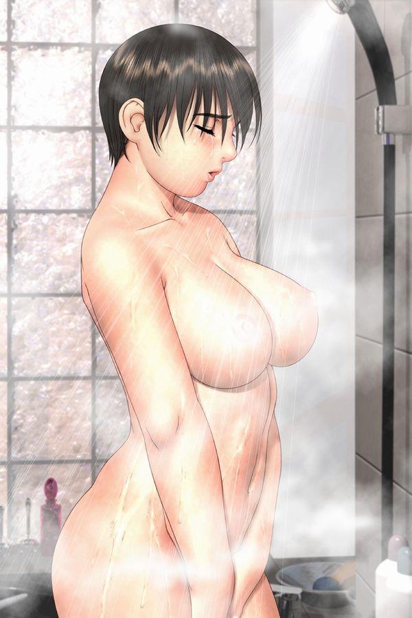 【立ちオナ】スタンディング状態で股間をいじる女子の二次エロ画像【13】