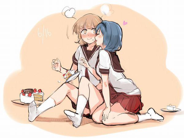 【ブチャラティ!?】顔を舐められてる女子達の二次エロ画像【18】