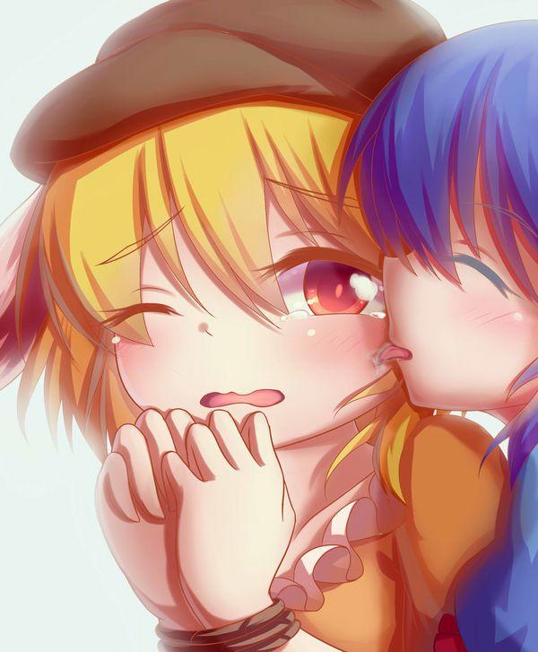 【ブチャラティ!?】顔を舐められてる女子達の二次エロ画像【23】