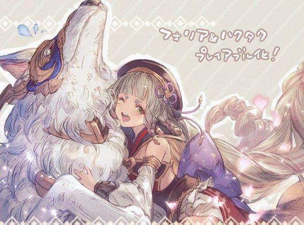 【グラブル】レオナ&フォリアのエロ画像【グランブルーファンタジー】【13】