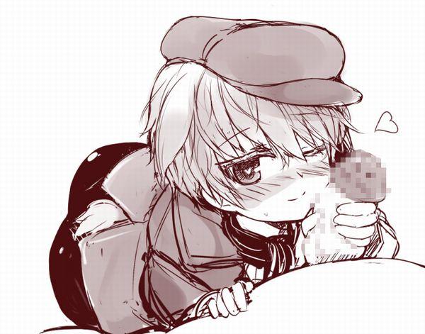 【ペニをギュッとね!】おちんちんを握り締める女子達の二次エロ画像【21】