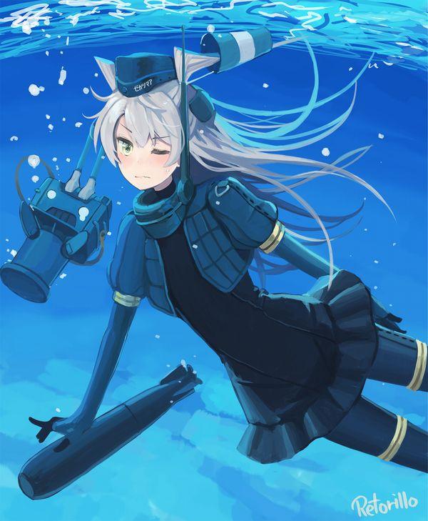 【艦これ】U-511(ゆーごひゃくじゅういち)のエロ画像【艦隊これくしょん】【36】