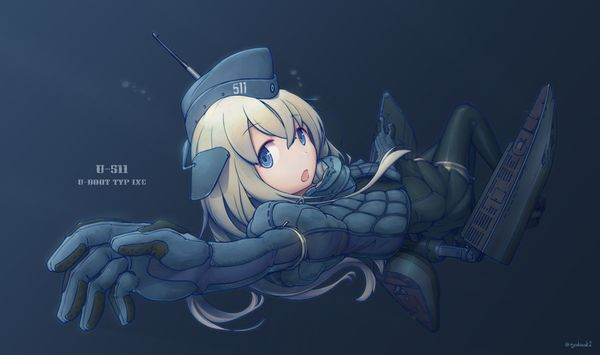 【艦これ】U-511(ゆーごひゃくじゅういち)のエロ画像【艦隊これくしょん】【44】