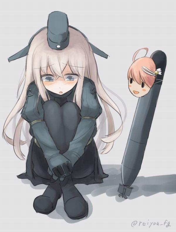 【艦これ】U-511(ゆーごひゃくじゅういち)のエロ画像【艦隊これくしょん】【50】