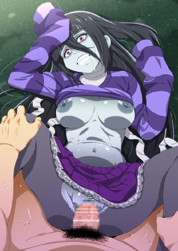 【締まり悪そう】ゾンビ娘とセックスしてる二次エロ画像【22】