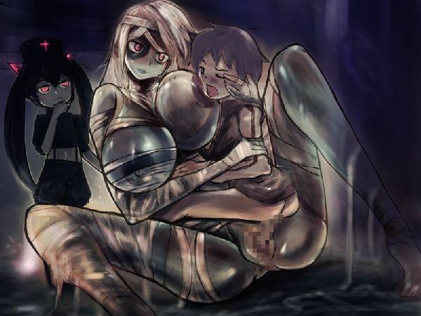 【締まり悪そう】ゾンビ娘とセックスしてる二次エロ画像【34】