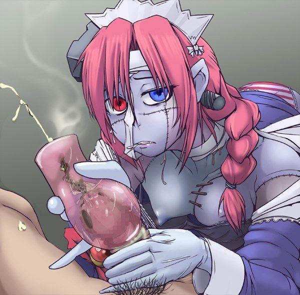 【締まり悪そう】ゾンビ娘とセックスしてる二次エロ画像【37】