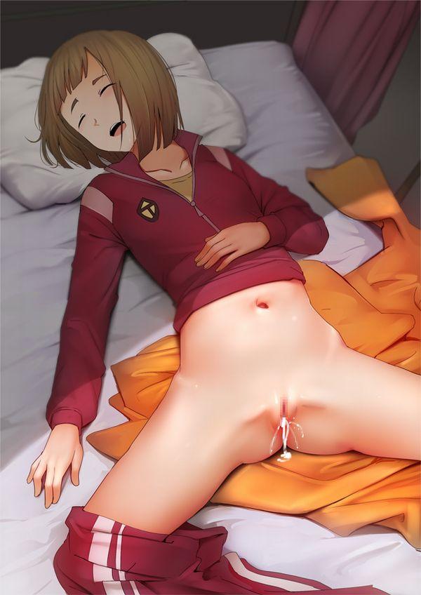 【鬼畜行為】寝てる子に中出ししてる二次エロ画像【18】