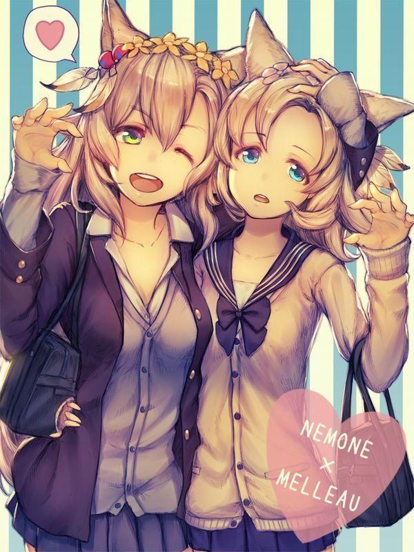 【グラブル】メルゥ&ネモネのエロ画像【グランブルーファンタジー】【25】