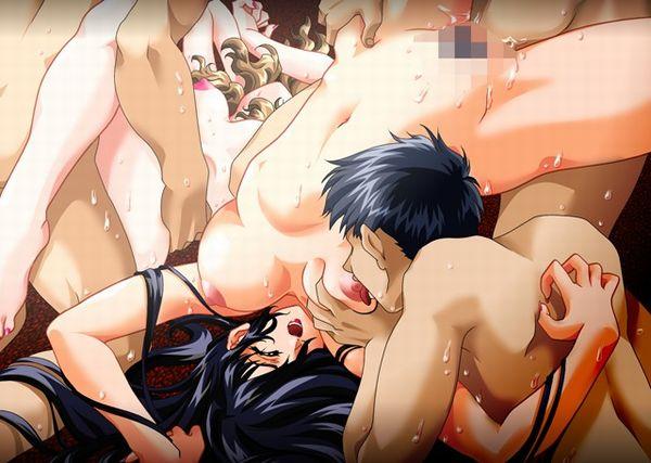 【ビッチ熟女】性を謳歌する乱交熟女の二次エロ画像【26】
