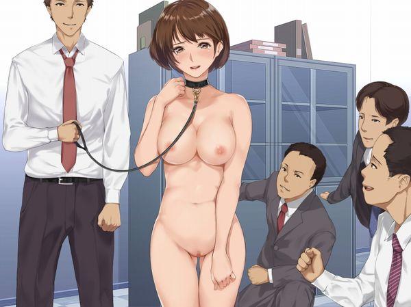 【所謂オフィスラブ】会社内でセックスしてる二次エロ画像【9】