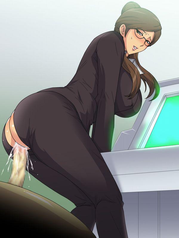 【所謂オフィスラブ】会社内でセックスしてる二次エロ画像【12】