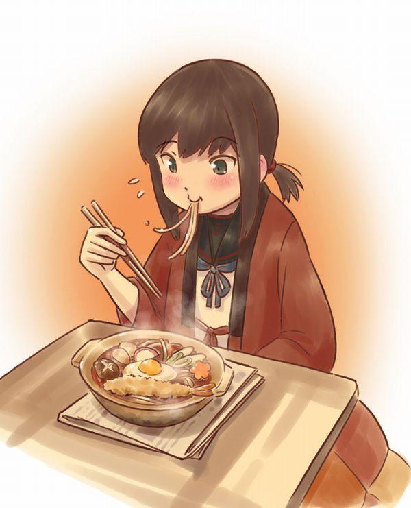 【香川県民のソウルフード】うどん食ってる女子達のエロ画像【19】