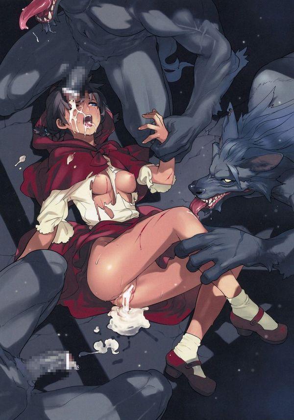 【二次惨事】暴力を伴うレイプのエロ画像【9】