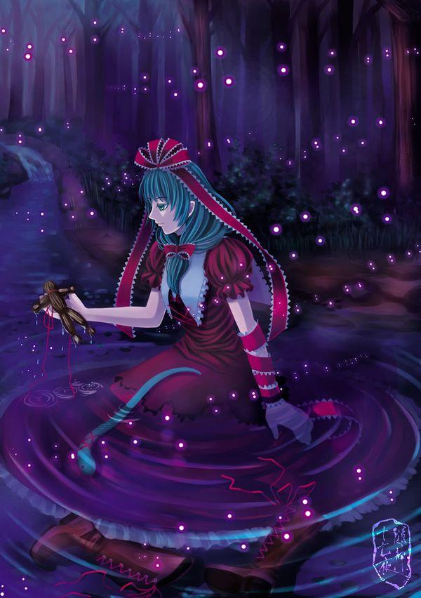 【人を呪わば穴2つだけど】藁人形を手にした女の子の二次画像【穴は一つしかないから】【10】