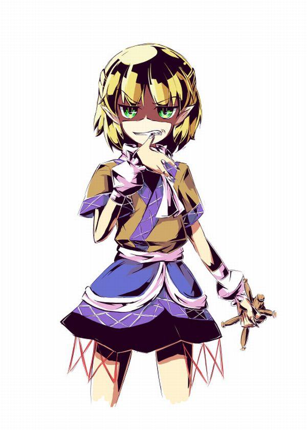 【人を呪わば穴2つだけど】藁人形を手にした女の子の二次画像【穴は一つしかないから】【14】