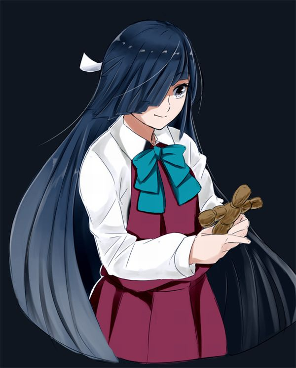【人を呪わば穴2つだけど】藁人形を手にした女の子の二次画像【穴は一つしかないから】【15】