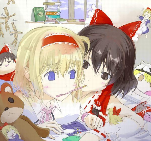 【人を呪わば穴2つだけど】藁人形を手にした女の子の二次画像【穴は一つしかないから】【23】