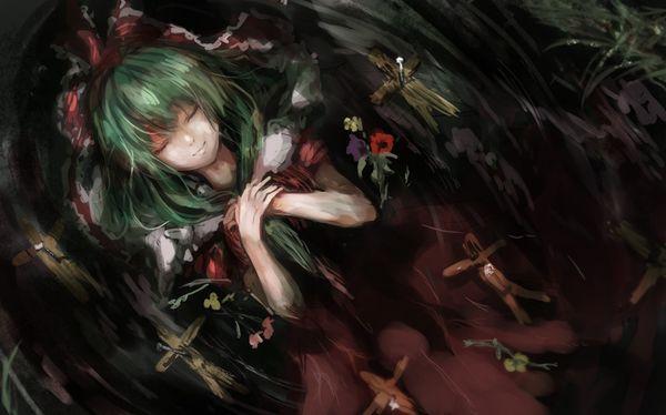 【人を呪わば穴2つだけど】藁人形を手にした女の子の二次画像【穴は一つしかないから】【30】