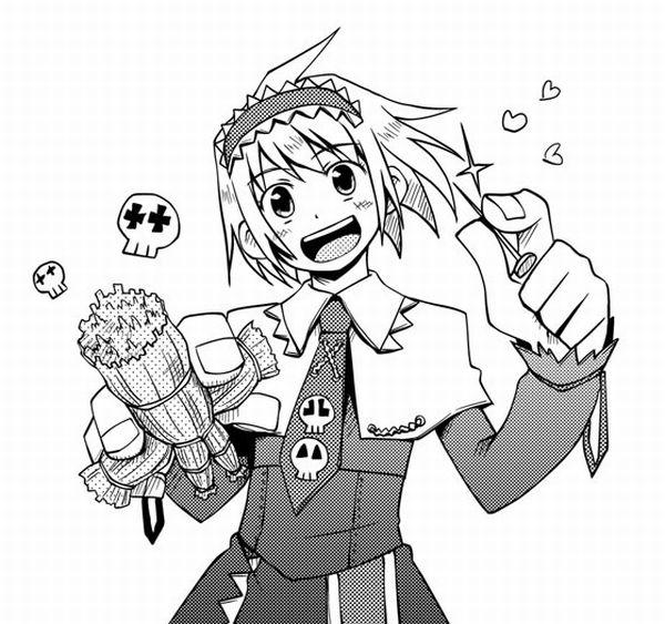 【人を呪わば穴2つだけど】藁人形を手にした女の子の二次画像【穴は一つしかないから】【35】