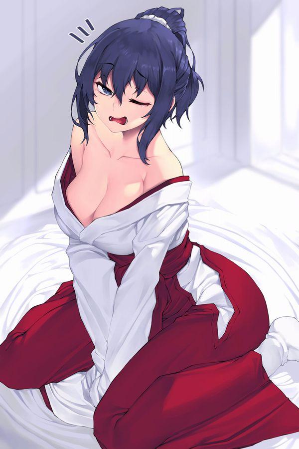 【寝起き】あくびしてる女の子達の二次エロ画像【8】