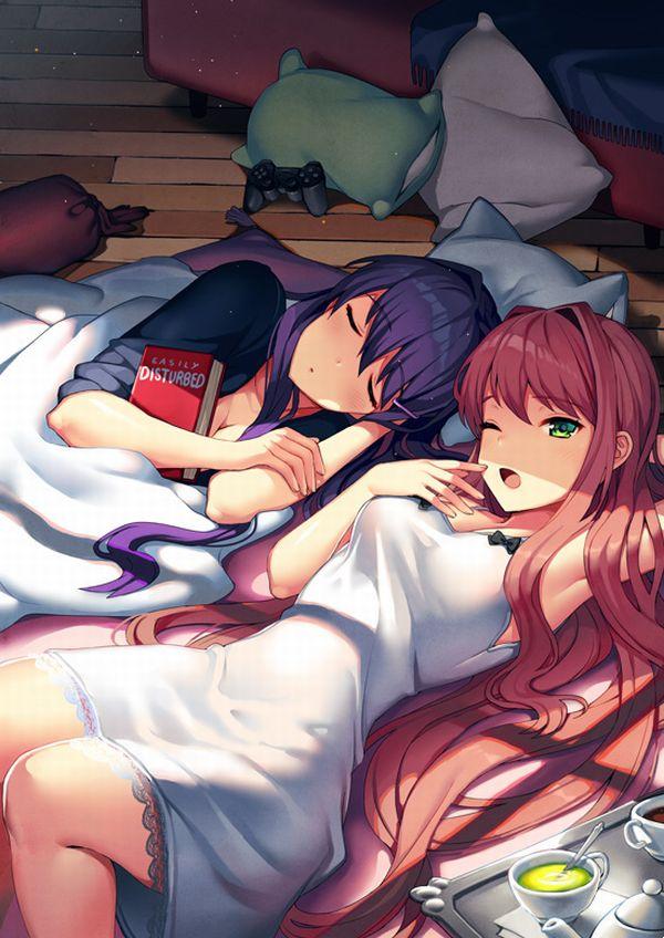 【寝起き】あくびしてる女の子達の二次エロ画像【19】