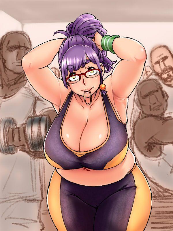 【二次】太った女の子のだらしない身体に興奮する方向けのエロ画像【9】
